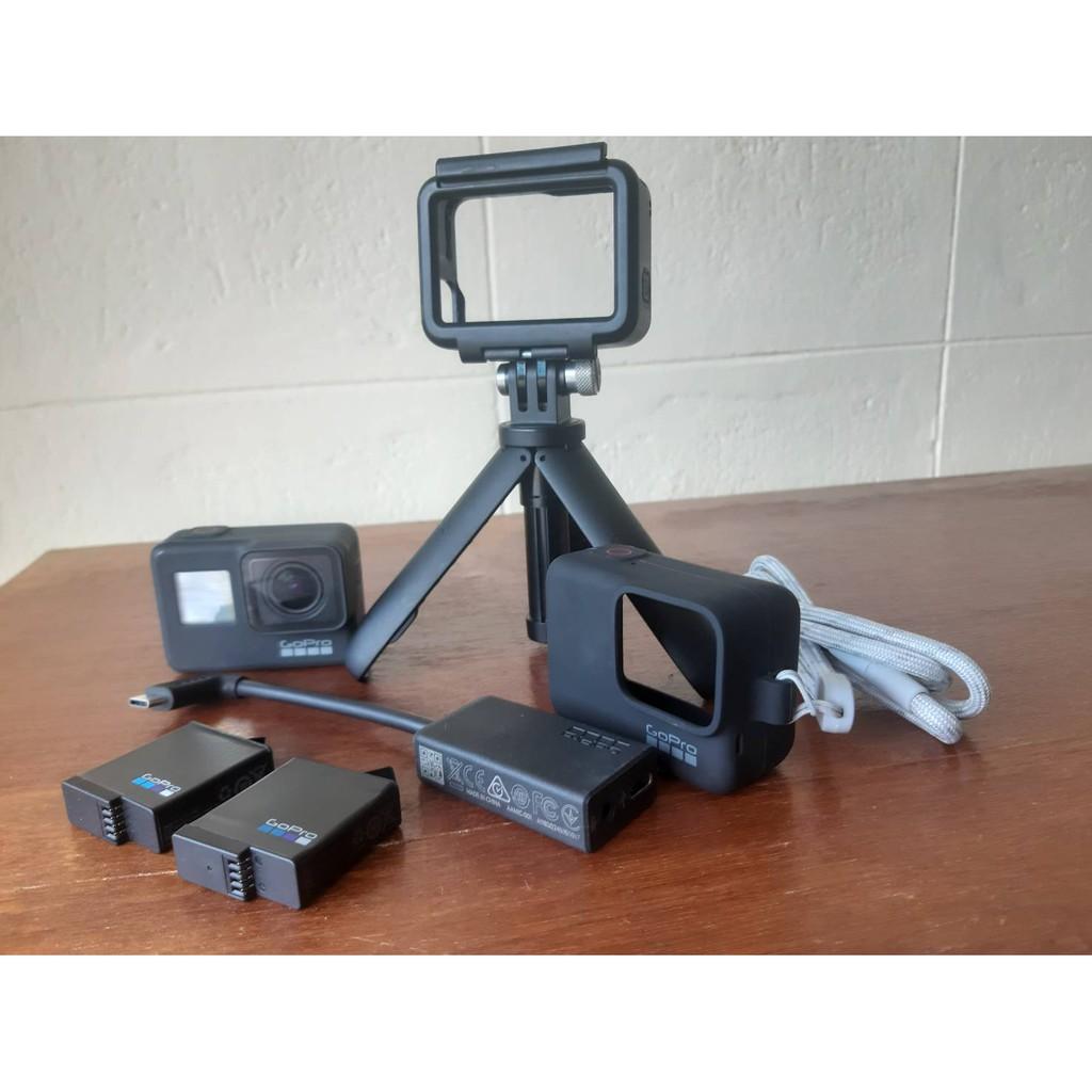 กล้อง Gopro Hero 7 Black มือสอง พร้อมอุปกรณ์