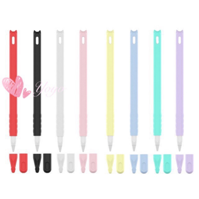 Apple pencil Case 3in1 (Gen2) มีหู ปลอกปากกา apple pencil เคสซิลิโคน กันหาย กันกระแทก Apple Pencil Case