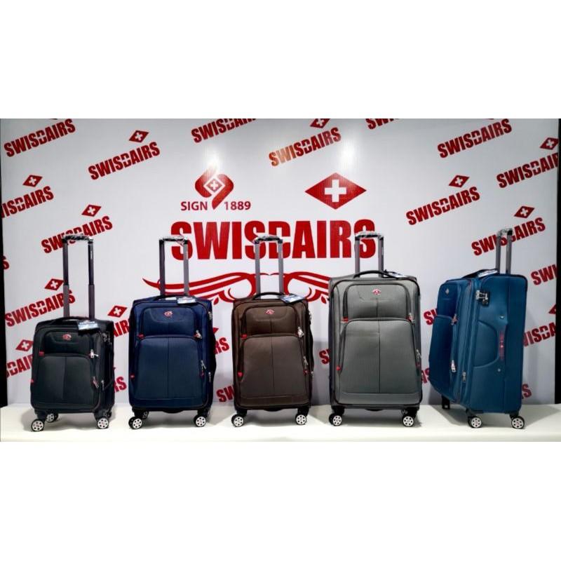 กระเป๋าเดินทาง24นิ้ว/กระเป๋าล้อลาก24นิ้ว/กระเป๋าผ้า/SWISAIRS