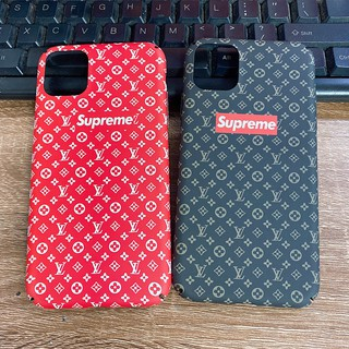 Review เคสแข็ง เคส iPhone X XS Max XR iPhone 11 Pro Max 7 8 Plus 6 6S Plus Fashion Supreme Hard Case