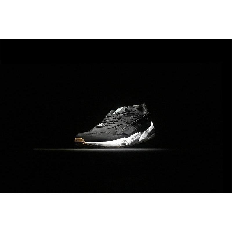 premium selection 85595 70c0c 36-44 สายพานทับทิม PUMA Trinomic R698 รองเท้าวิ่งไหมสีดำ ...