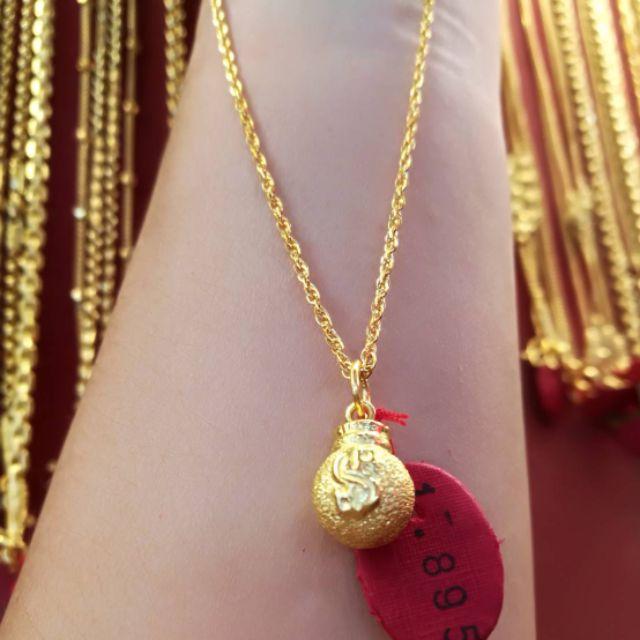  จี้ทองแท้ 96.5% น้ำหนักครึ่งสลึง ราคา4,500
