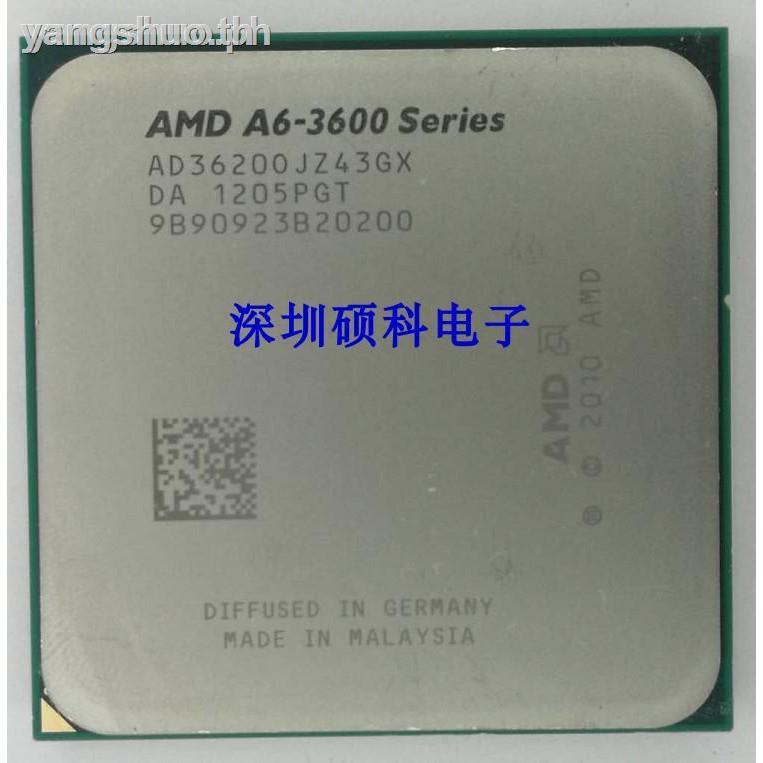 Amd Desktop Fm1 A6 3670 3650 3600 A8 3870 K 3850 3800 Quad - Core Cpu อุปกรณ์เสริมคอมพิวเตอร์