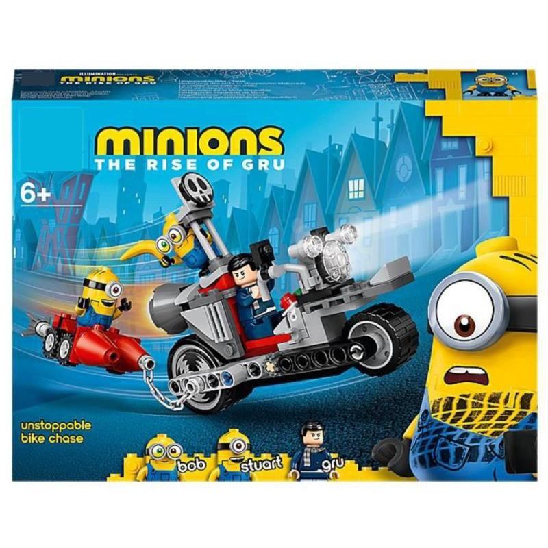 เลโก้มินเนียน Despicable Me Minion เลโก้ 81888 ของเล่นเสริมพัฒนาการ เลโก้จีน***สินค้าพร้อมส่ง เก็บเงินปลายทางได้