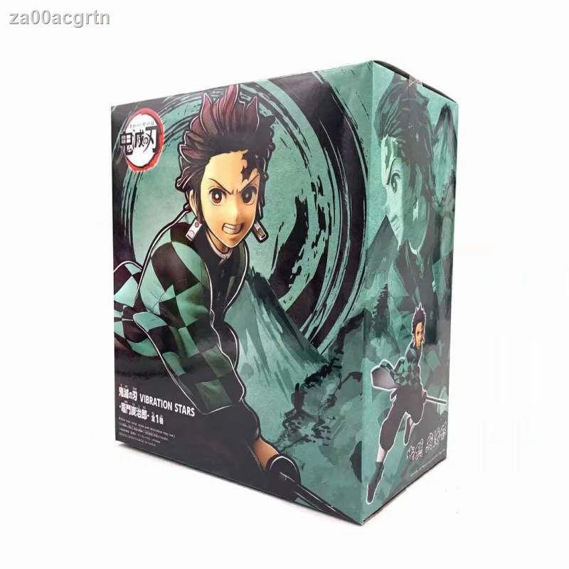 【โมเดลอะนิเมะ Demon Slayer】□Blade of Demon Slayer Tanjiro Kilomon Battle Edition Scenery Model Boxed Figure Decorati