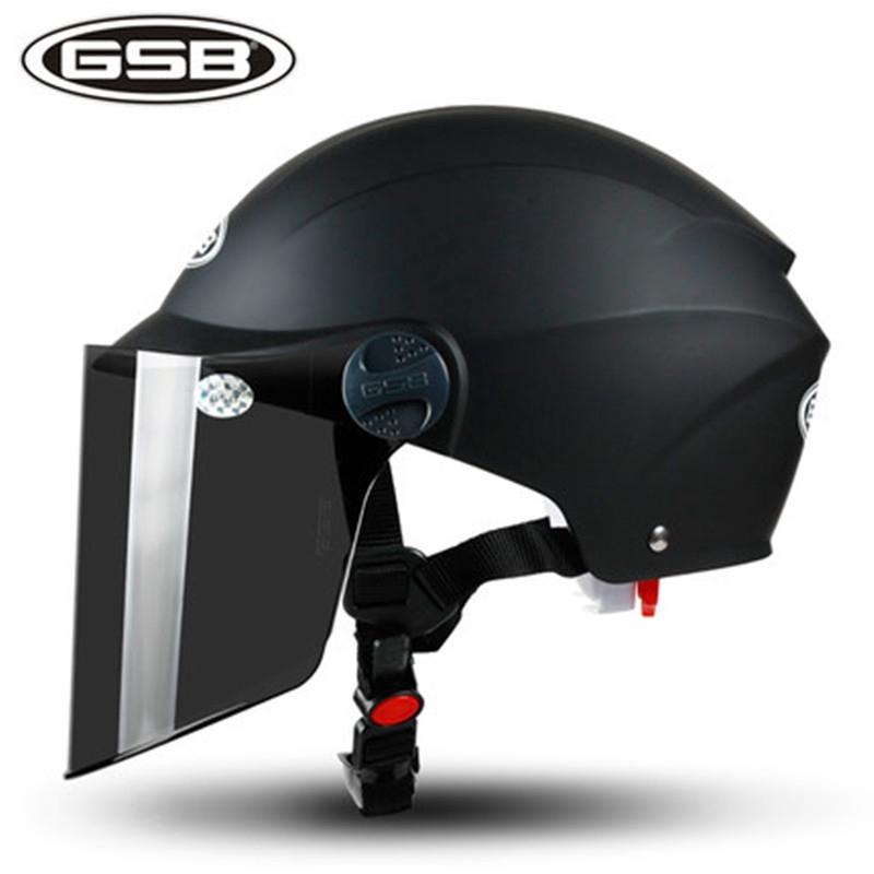 หมวกกันน็อค GSB หญิงฤดูร้อนรถยนต์ไฟฟ้าแบตเตอรี่รถยนต์หมวกกันน็อคผู้ชายและผู้หญิงในช่วงฤดูร้อนครีมกันแดดแบบพกพาขนาดที่สาม