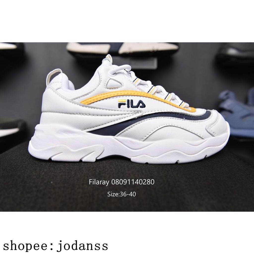 รองเท้าผ้าใบรองเท้าวิ่ง Fila Ray