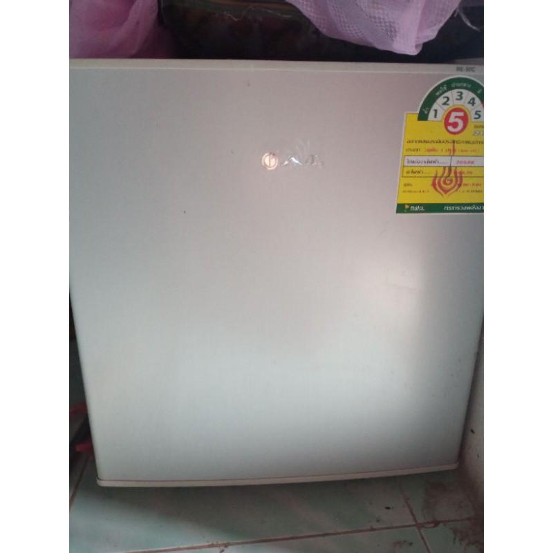 ตู้เย็นมินิบาร์ AJ 1.6คิว มือสองสภาพดี ราคาไม่รวมส่ง
