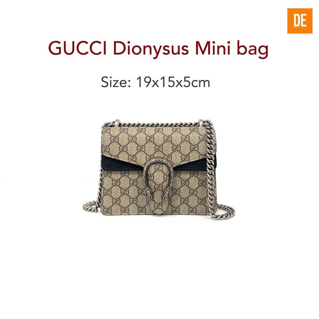 Gucci Dionysus Mini bag size 19*15*5cm : GN460A - Black