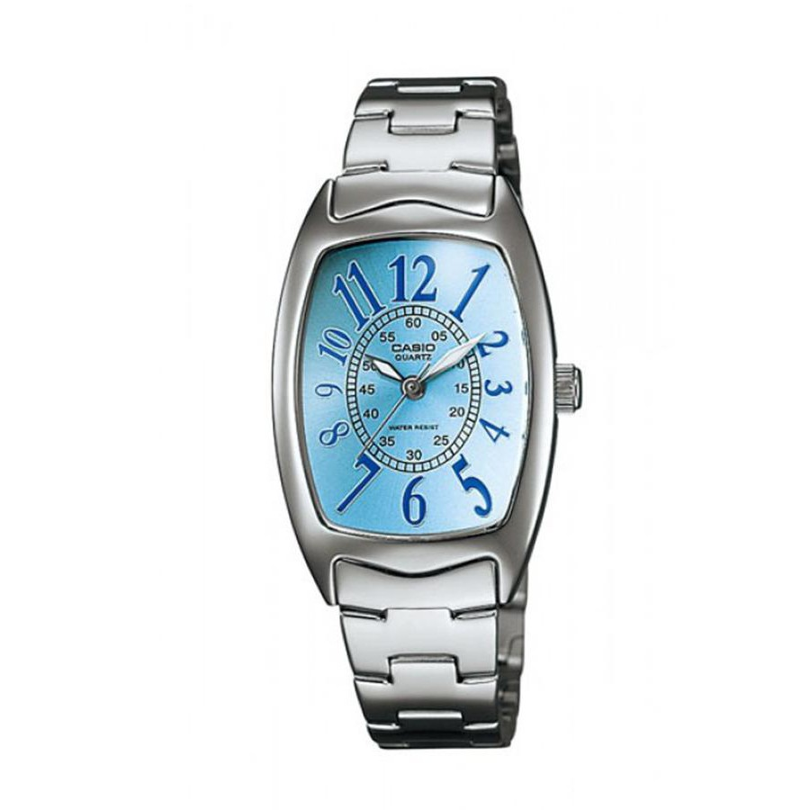Casio Standard นาฬิกาข้อมือผู้หญิง สายสแตนเลส รุ่น LTP-1208D-2B - สีเงิน