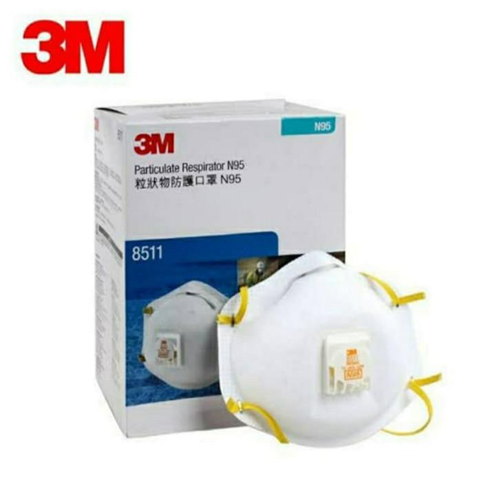 Stroom_Store079- 3m Mask N95 8511 หน้ากากคุณภาพสูง 8210 พร้อมราคาจํากัด D2tN