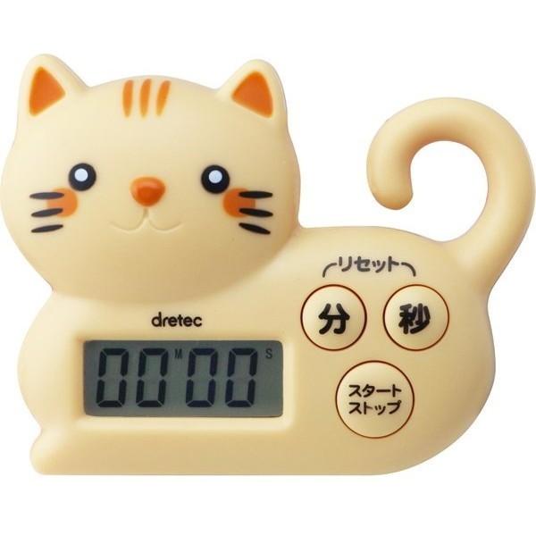 Dretec T5368 นาฬิกาจับเวลา แมวน่ารัก