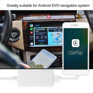 Review Guli USB Dongle carplay Car Navigation MP 3 / MP 4 Head Unit Fit สำหรับ Apple IOS Android 5v 1A ( สีขาว )
