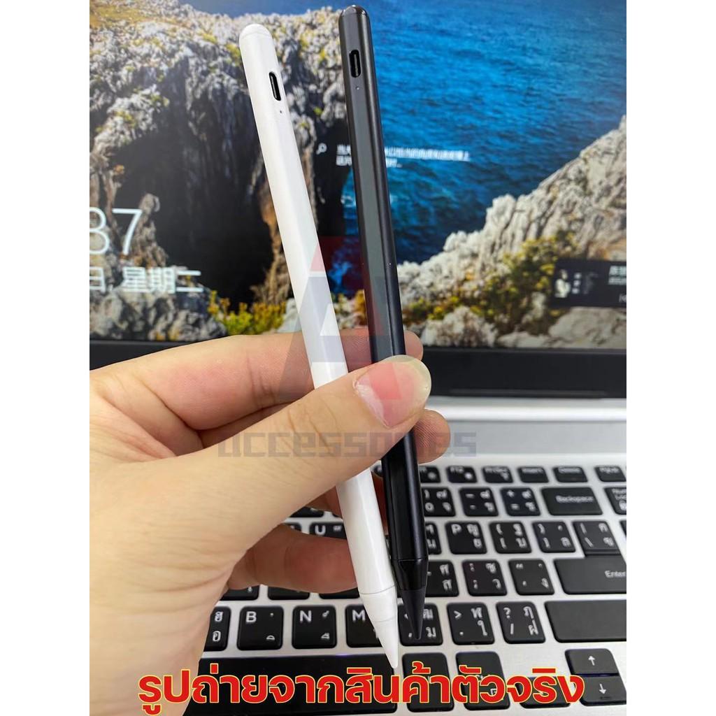 ☄◊วางมือบนจอ+แรเงามีของแถมปากกาไอแพดApplePencil stylus 10th Gen สำหรับ iPad Air3/Air4 mini5 Gen6/7/8 proปากกา1 D4CG