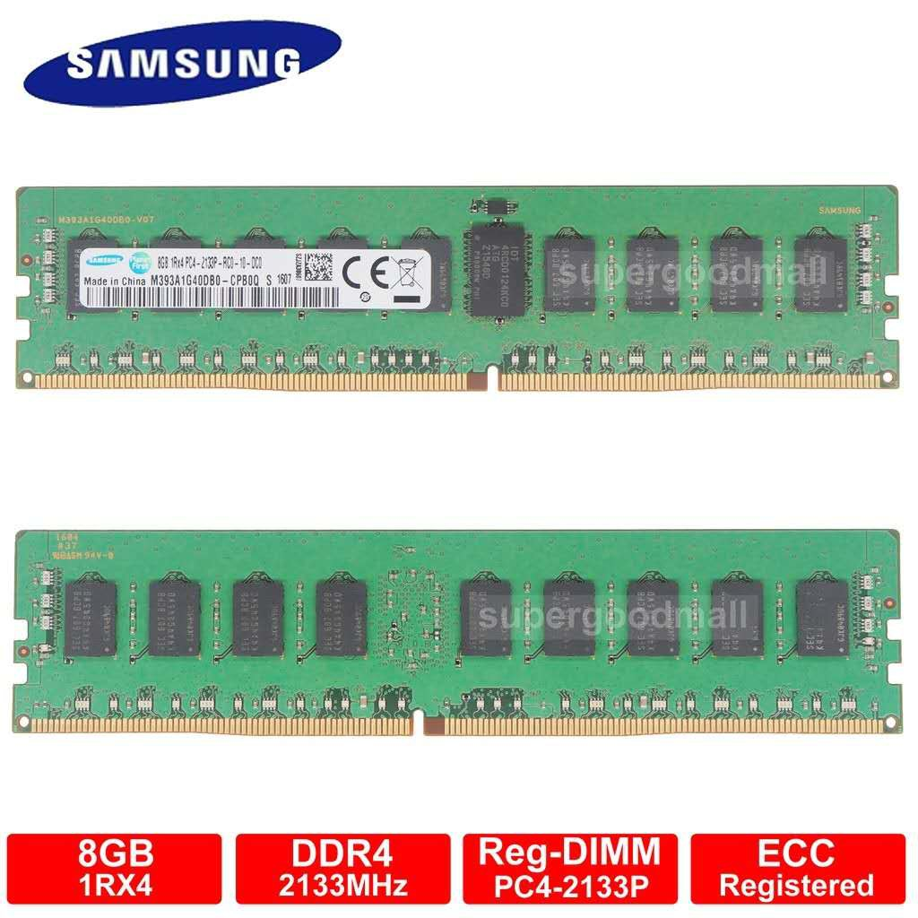 SAMSUNG 16GB 2Rx8 PC4-2666V PC4-21300 DDR4 2666 288PIN ECC REG Server Memory RAM