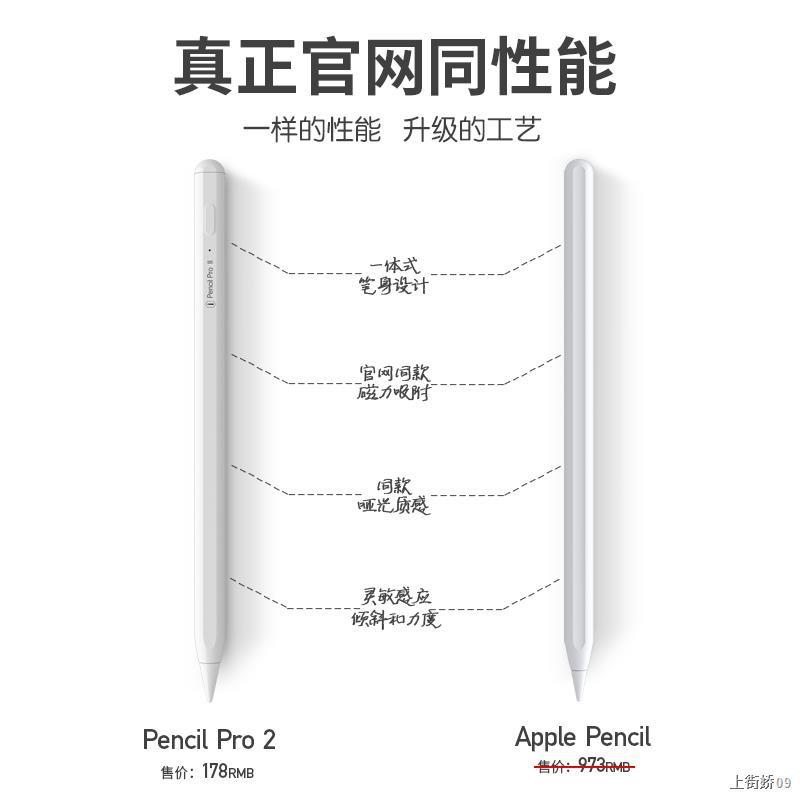 ㍿ปากกา ipad applepencil รุ่นที่ 1 Apple stylus pencil 2 ปากกาหน้าจอสัมผัส wiwu Yibosi capacitive 6 ปากกาแท็บเล็ตป้องกันข