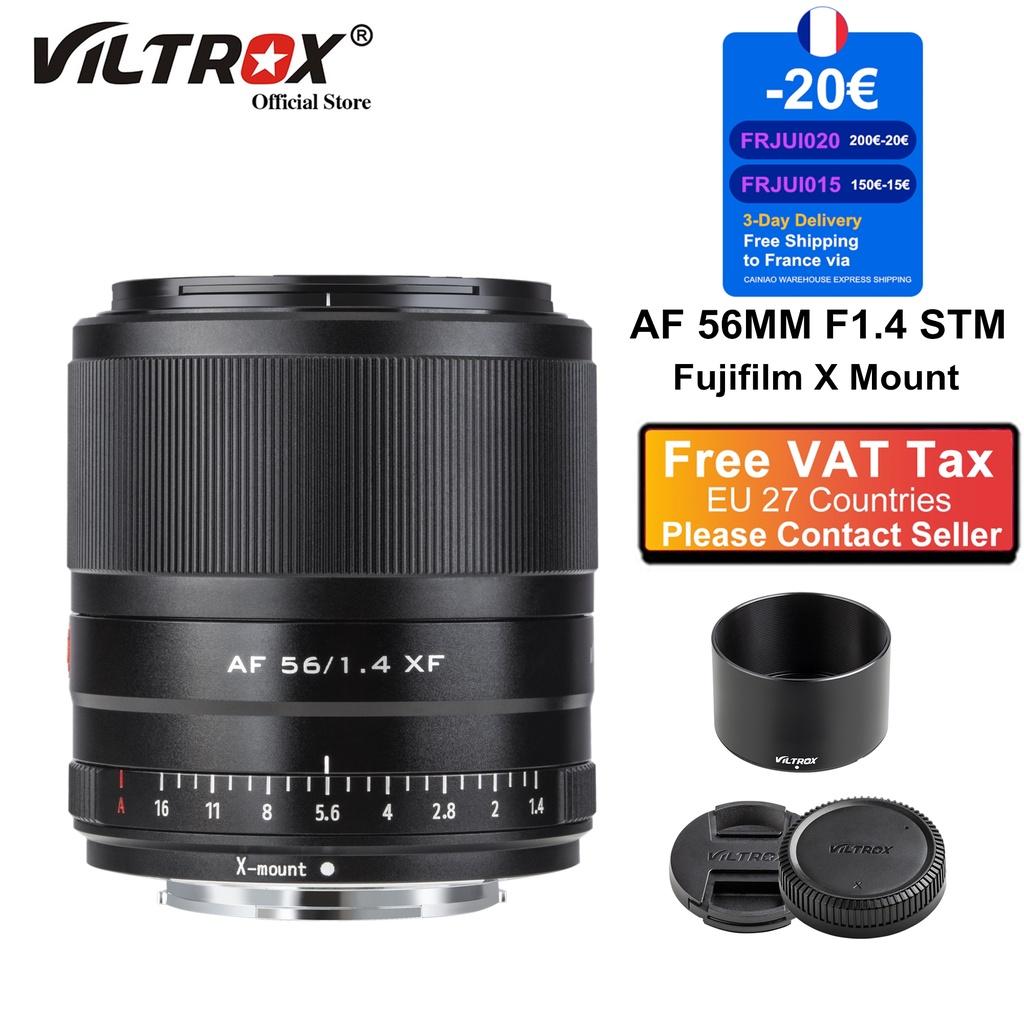 หมอนท่องเที่ยว  Viltrox 56mm F1.4 Auto Focus ortrait Large Aerture Lens Telehoto  Lens for Fujifilm Fuji X Mount Camera