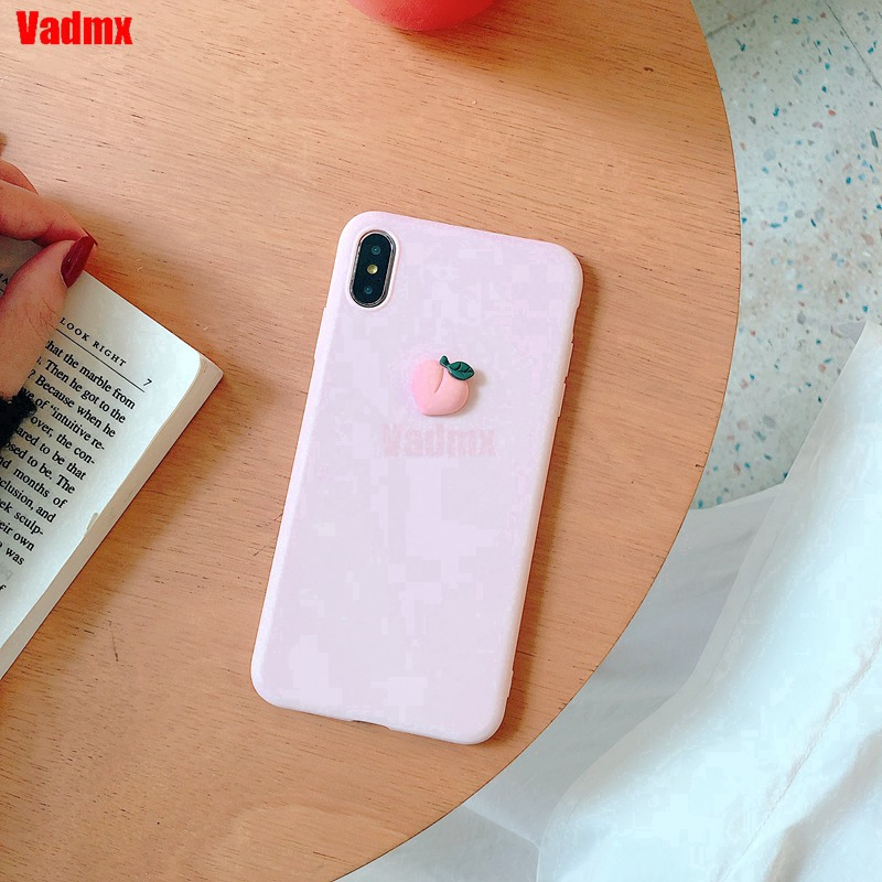 Samsung Galaxy J8 J4 J6 J4+ J6+ A8 A8+ Plus 2018 A5 A9 Pro 2016 2017 Phone Case Radish Peach Banana Cute Soft Cover eBSR