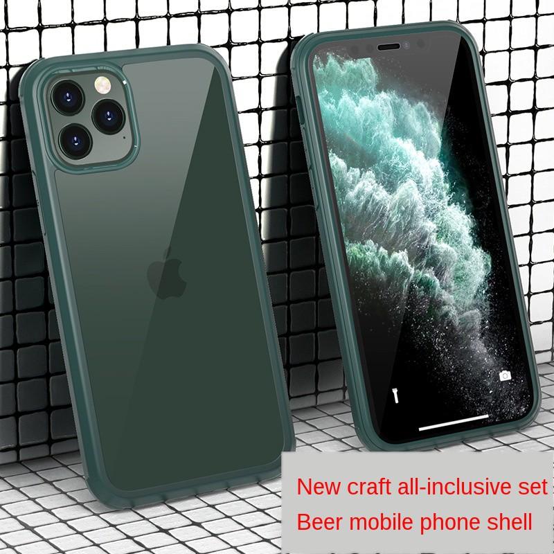 เคสโทรศัพท์มือถือแบบสองด้านสําหรับ Apple Se2 Iphone11 12