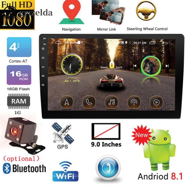 เครื่องเล่นมัลติมีเดียในรถยนต์ 9 นิ้ว / 10 . 1 นิ้ว 2 Din Android Gps Autoradio
