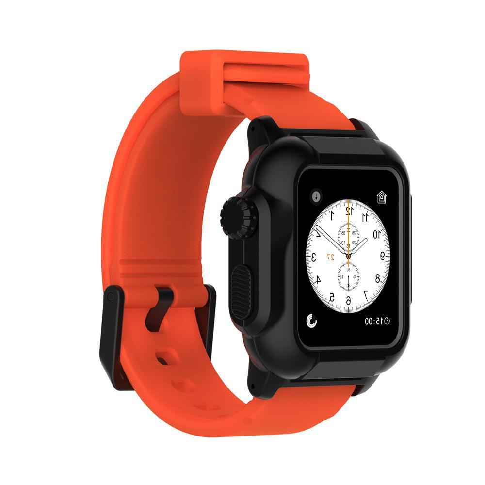 เหมาะสำหรับนาฬิกา Apple Diving Waterproof และ Anti-fall พร้อม AppleWatchSeries4 / 5 Case Protection