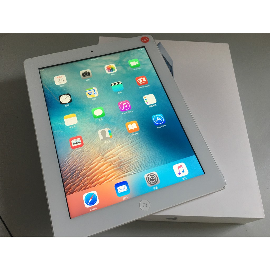 apple iphone5 ไอแพด2 ipad2 iPad3 iPad4 ไอแพดมินิ1 mini1/2/3 มือ2อุปกรณ์ครบชุดและมีกล่องให้ด้วย ไอมือสอง แท้100% 16G