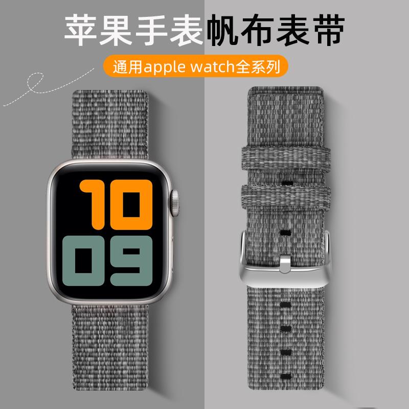 ใช้ได้ครับapplewatchสายนาฬิกา AppleS5ทอปรับกีฬาiwatchสายรัด1/2/3/4/5/SE/6รุ่นunisexiphone seriesแฟชั่น-S4ใส่ได้ทั้งชายแล