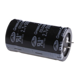 Kiss X 1 ชิ้น Farad Capacitor 2 7 V 500 F 35 x 60 มม  Super Capacitor
