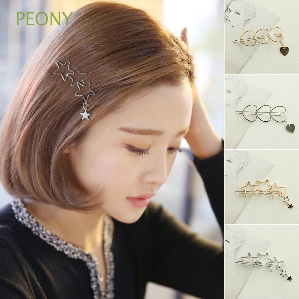Cute Girls Acrylic Hair Clips Women Hairgrip Hairpins Barrettes Headband