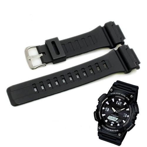 สาย applewatch สาย applewatch แท้ สายนาฬิกาใช้ได้กับ Casio ของรุ่น AQ-S810W และ Sport Watch สายดำด้าน