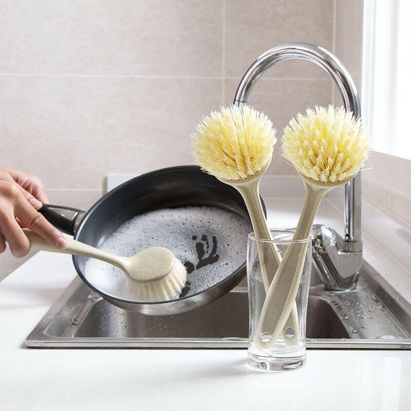 แปรงล้างจานแปรงจานโหลดบ้านครัว