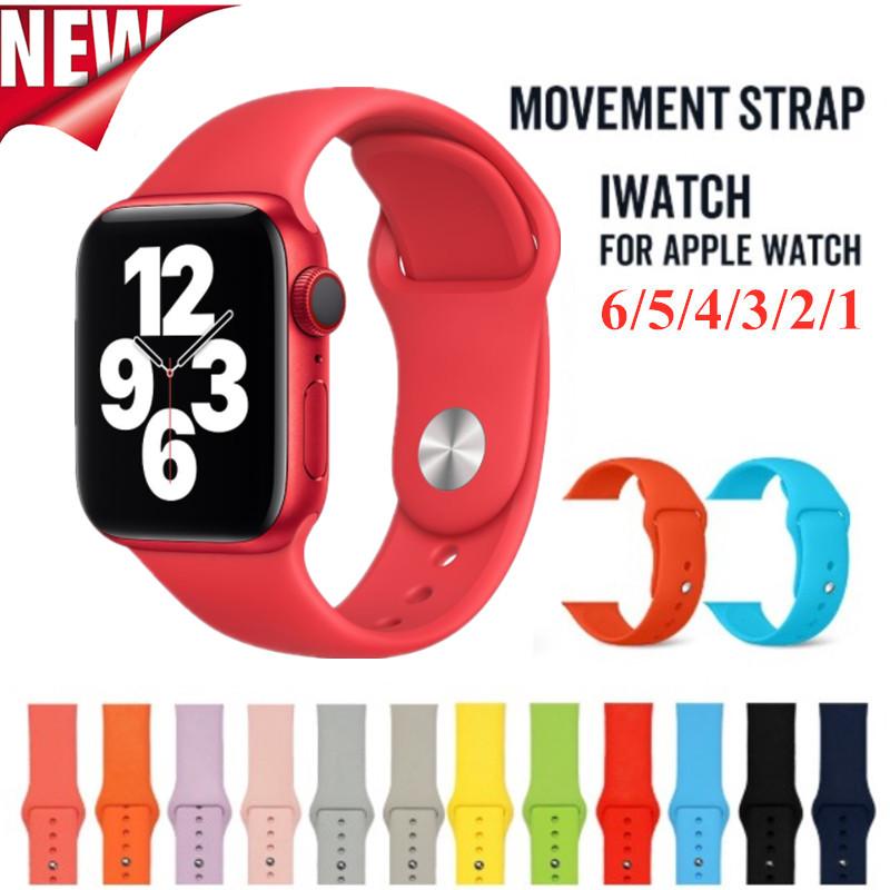 สร้อยข้อมือสายนาฬิกาสำหรับ Apple Watch 6 5 4 3 2 1 Se Sports Band สำหรับ 38mm 42mm 40mm 44mm Series Series Series สี 13-24 Applewatchmilaneseloop Applewatchseries4 สายนาฬิกาข้อมือ นาฬิกาข้อมือwatch