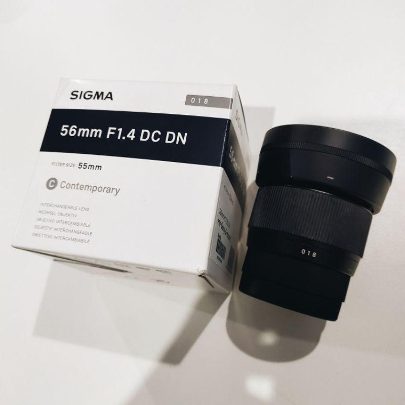 เลนส์ Sigma56 mm F1.4