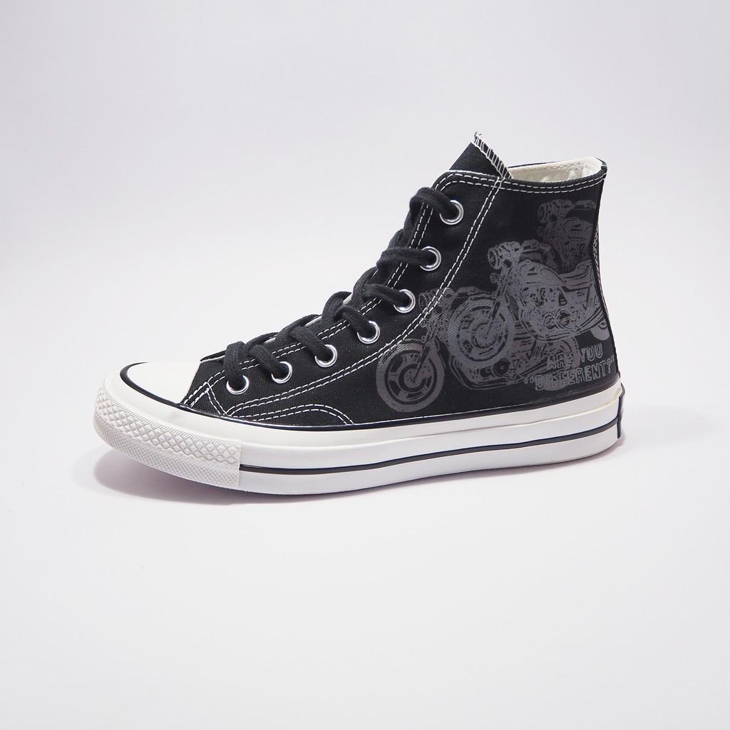 CONVERSE รองเท้าผ้าใบหุ้มข้อ  ALL STAR 70 HI BLACK / WHITE
