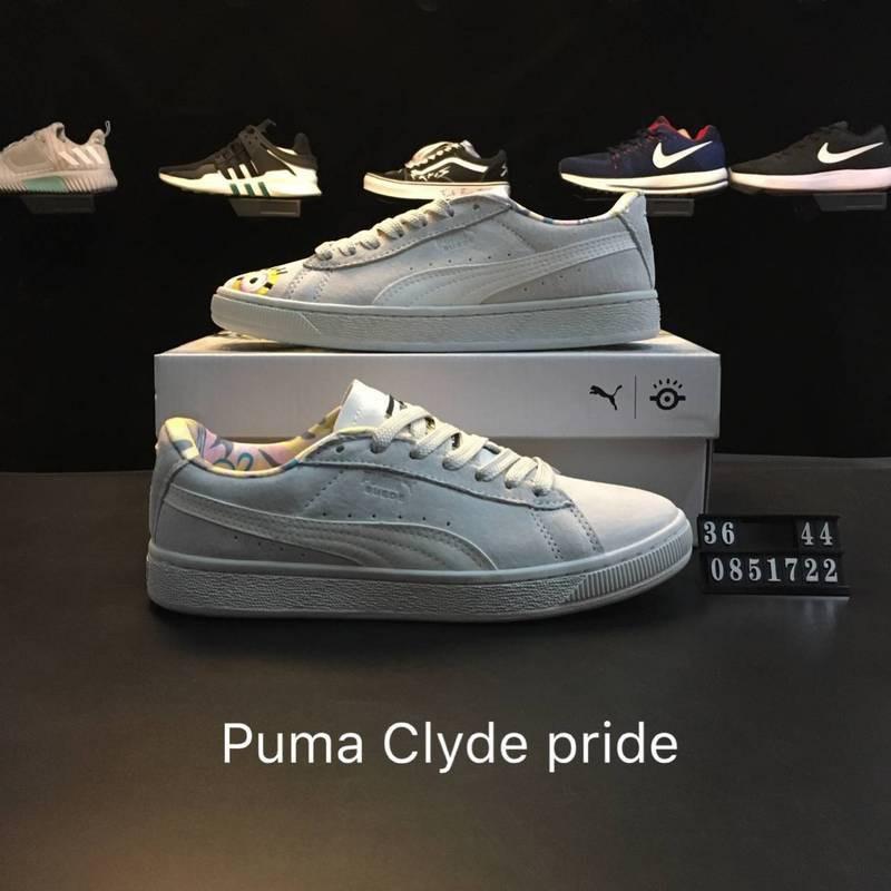 online retailer ca37e c4c8a Xinxin puma clyde pride 彪Ma Leihana men's shoes women's shoes 365669 02  No.0851722 Code 36-44