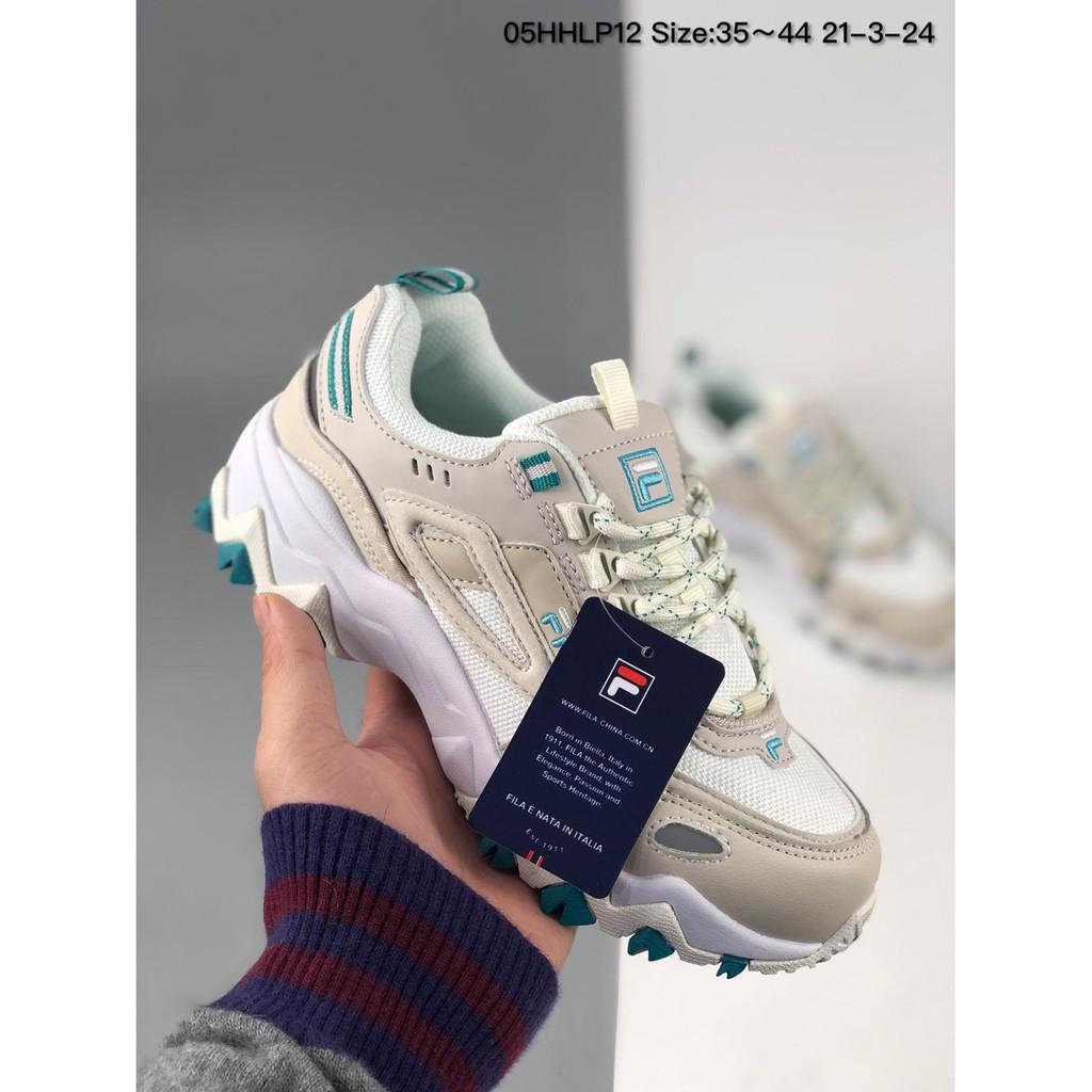 Fila Heritage Retro รองเท้าวิ่งรองเท้ากีฬาแฟชั่น