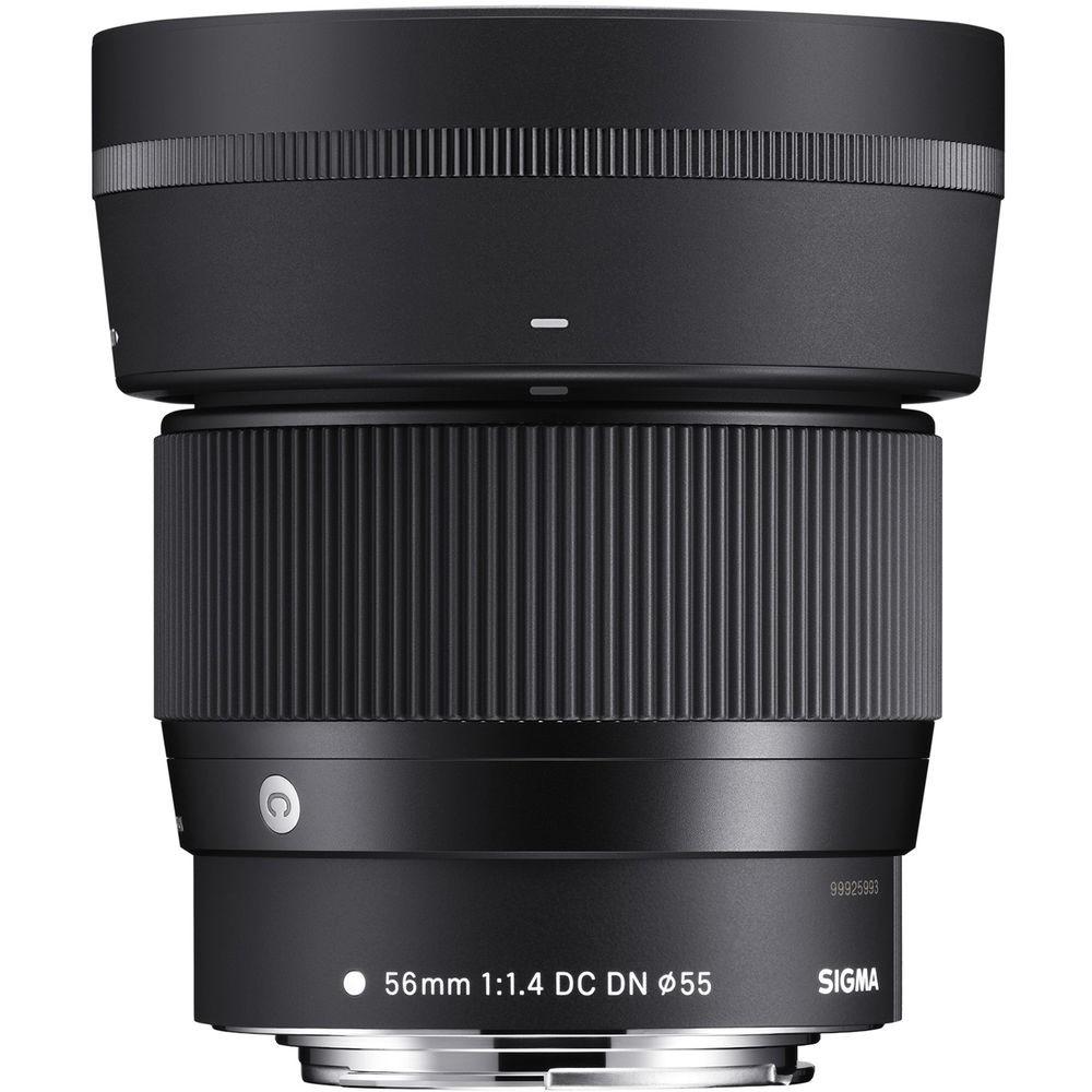 Sigma Lens DN 56mm f1.4 (C) DC (ประกันศูนย์ 3 ปี) ลงทะเบียนผ่าน website ภายใน 7 วันหลังซื้อสินค้า