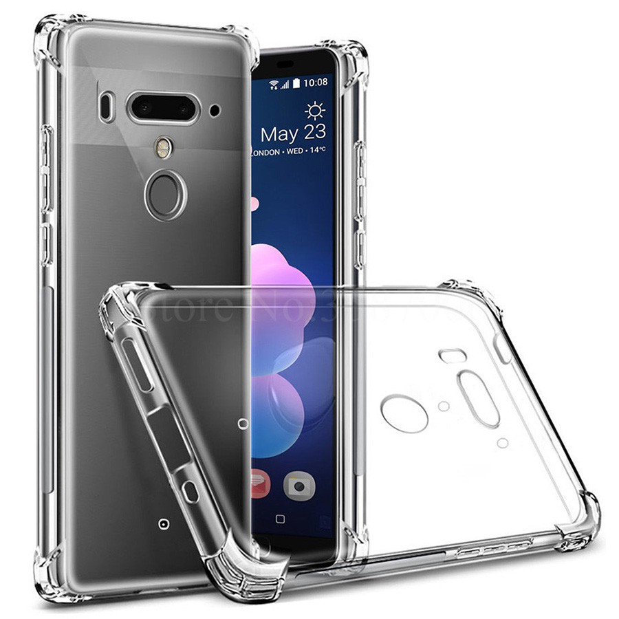 เคสใส HTC U12+ : Soft TPU Clear Case for HTC U12+