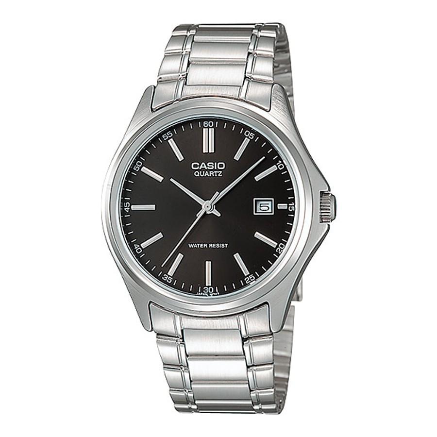 Casio Standard นาฬิกาข้อมือผู้ชาย สายสแตนเลส รุ่น MTP-1183A-1A - สีเงิน