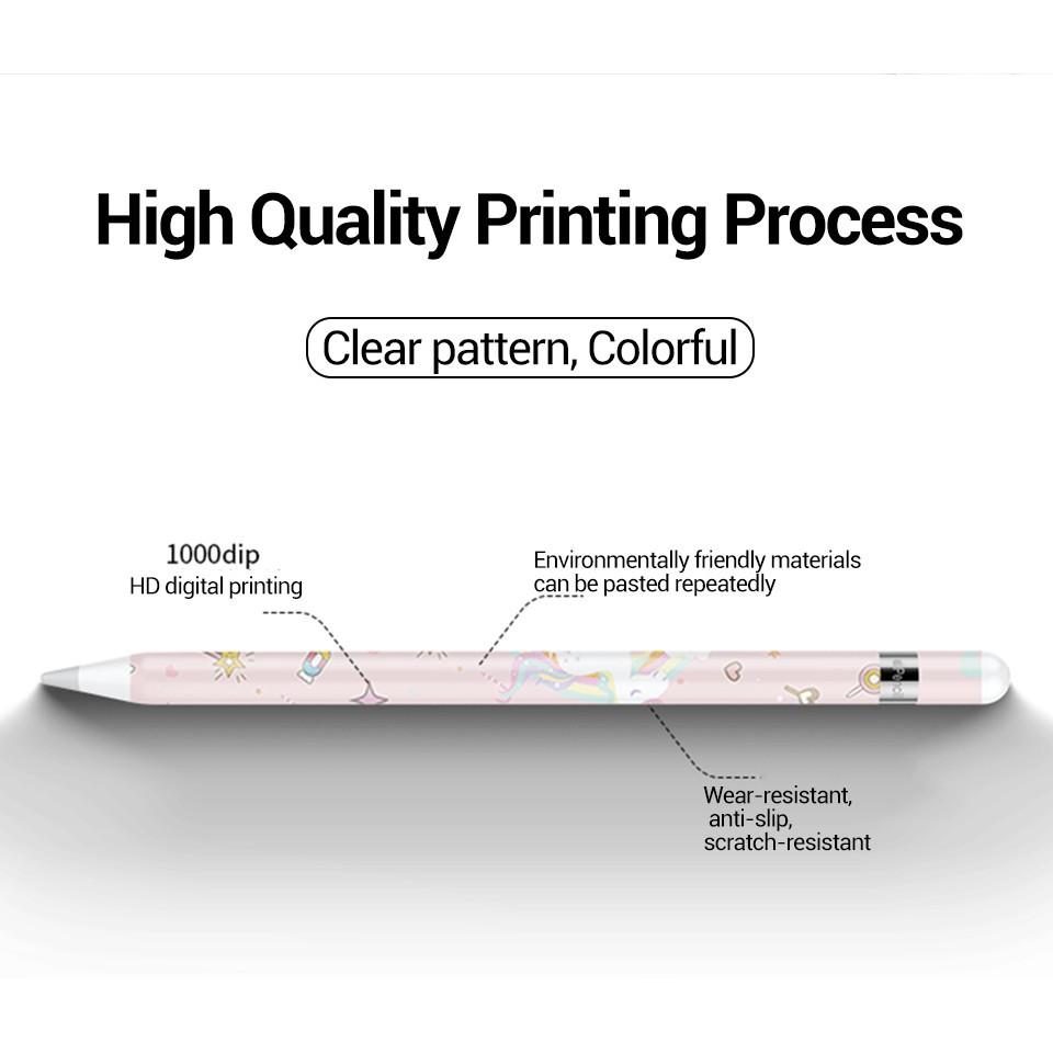 ✵[ถูกที่สุด] ฟิล์มปากกาสำหรับ applepencil sticker รุ่นที่1/2 น่ารักๆ พร้อมโปรโมชั่น3แถม1[6] 7fPU