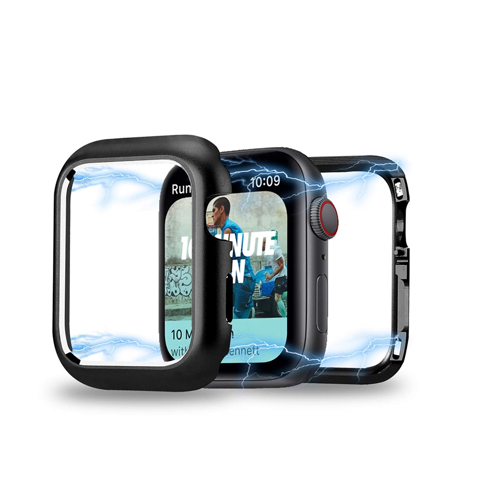 360° Full Cover Aluminum Magnetic Case For Iwatch Apple iwatch 38/40MM 42/44MM Protective Watch Case Series 4/3/2/1