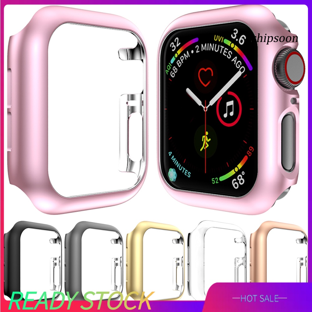 ssn- 40/44mm Anti-scratch Smart Watch Protective Case Cover for Apple iWatch 4 Series