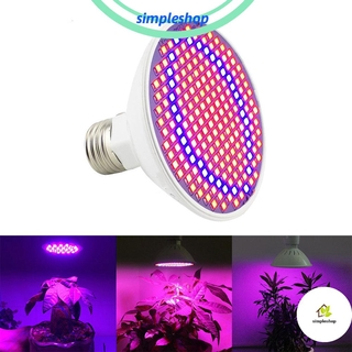Review ❀SIMPLE❀ Flower Plant Grow Light Garden Indoor Led Bulbs Full Spectrum Hydroponics E27 Vegetable Greenhouse Lamp