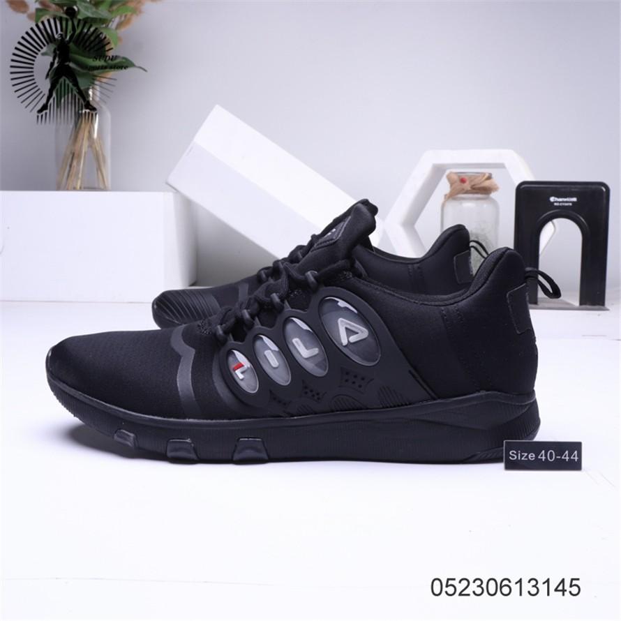 FILA รองเท้าผู้ชายรองเท้าผ้าใบแฟชั่นรองเท้าวิ่ง282