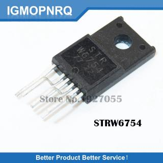 5PCS STRW6754 TO220F-6 W6754 TO-220 STR-W6754