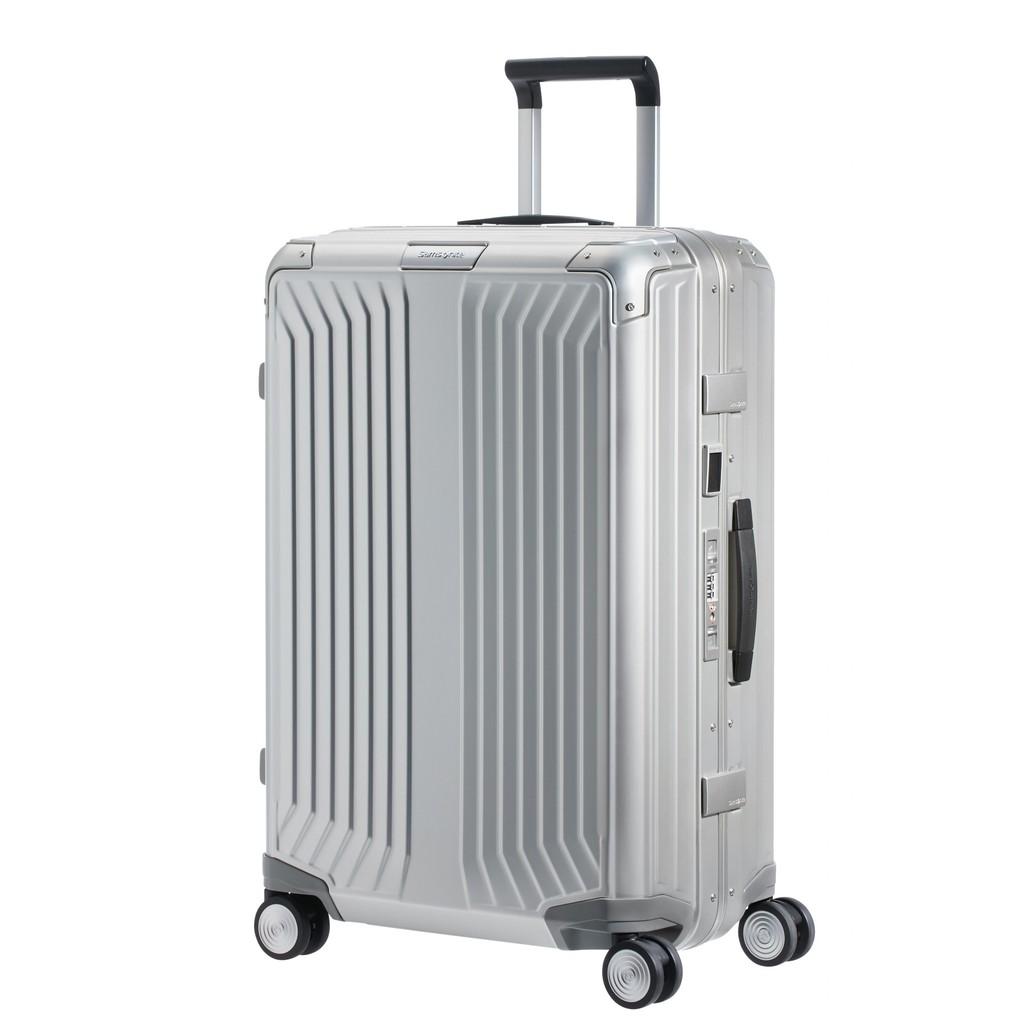 SAMSONITE กระเป๋าเดินทางล้อลากอลูมิเนียม (25 นิ้ว ) รุ่น LITE-BOX ALU SPINNER 69/25(แบบเฟรมล็อก)
