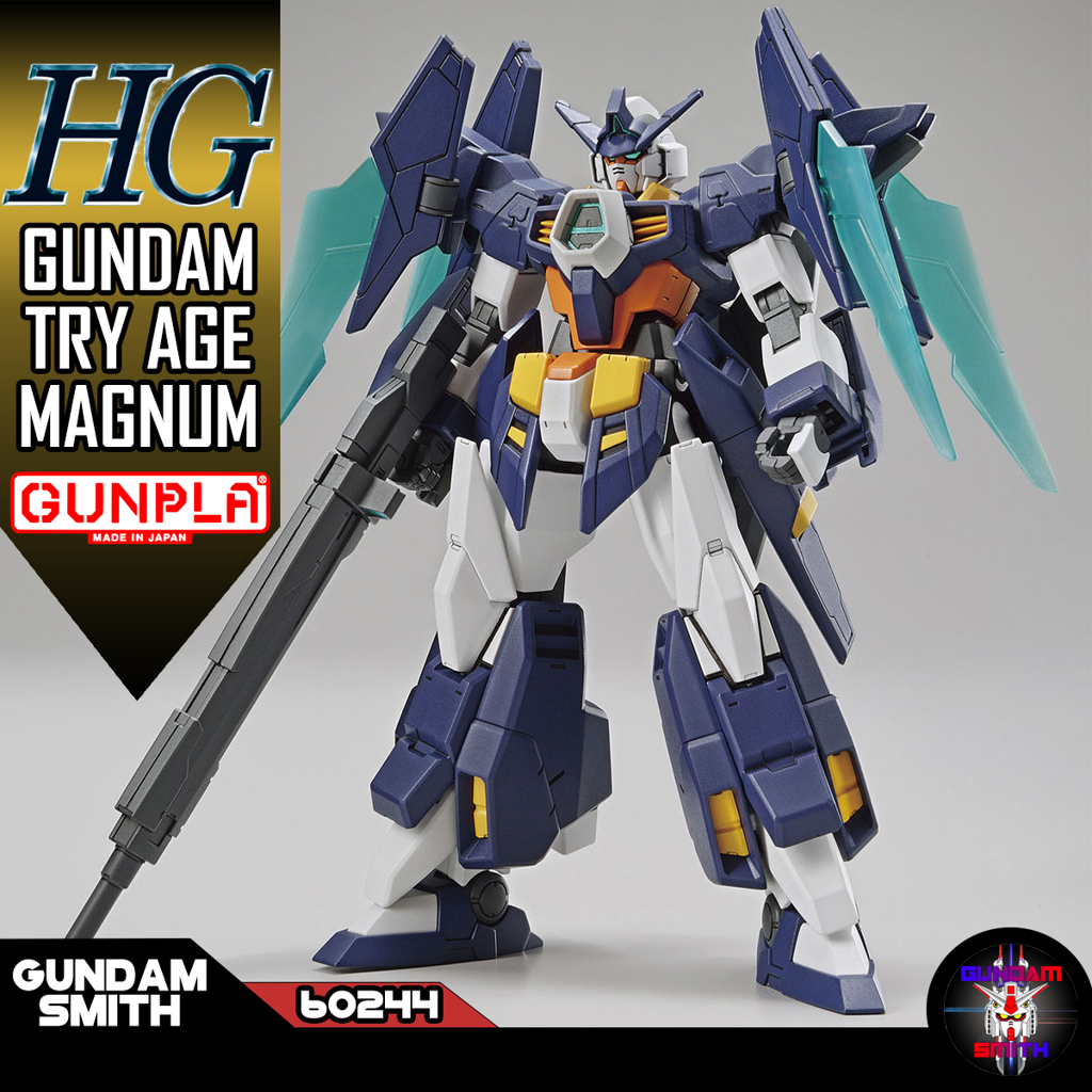 HG 1/144 GUNDAM TRY AGE MAGNUM - Gundamsmith
