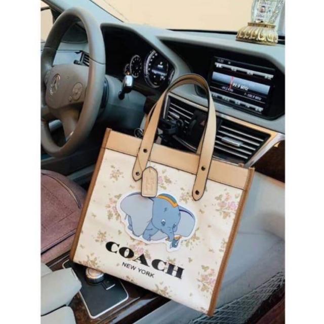 Coach Dombo Bag กระเป๋าผ้าโคชช้าง ++สินค้าพร้อมส่ง++ กระเป๋าถือ กระเป๋าแฟชั่นผู้หญิง
