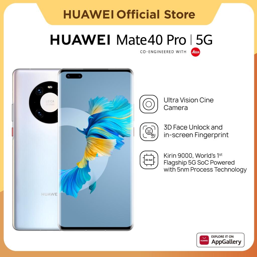 HUAWEI Mate40 Pro 5G Smartphone [8+256GB] | Kirin 9000 | Ultra Vision Leica Cine Camera