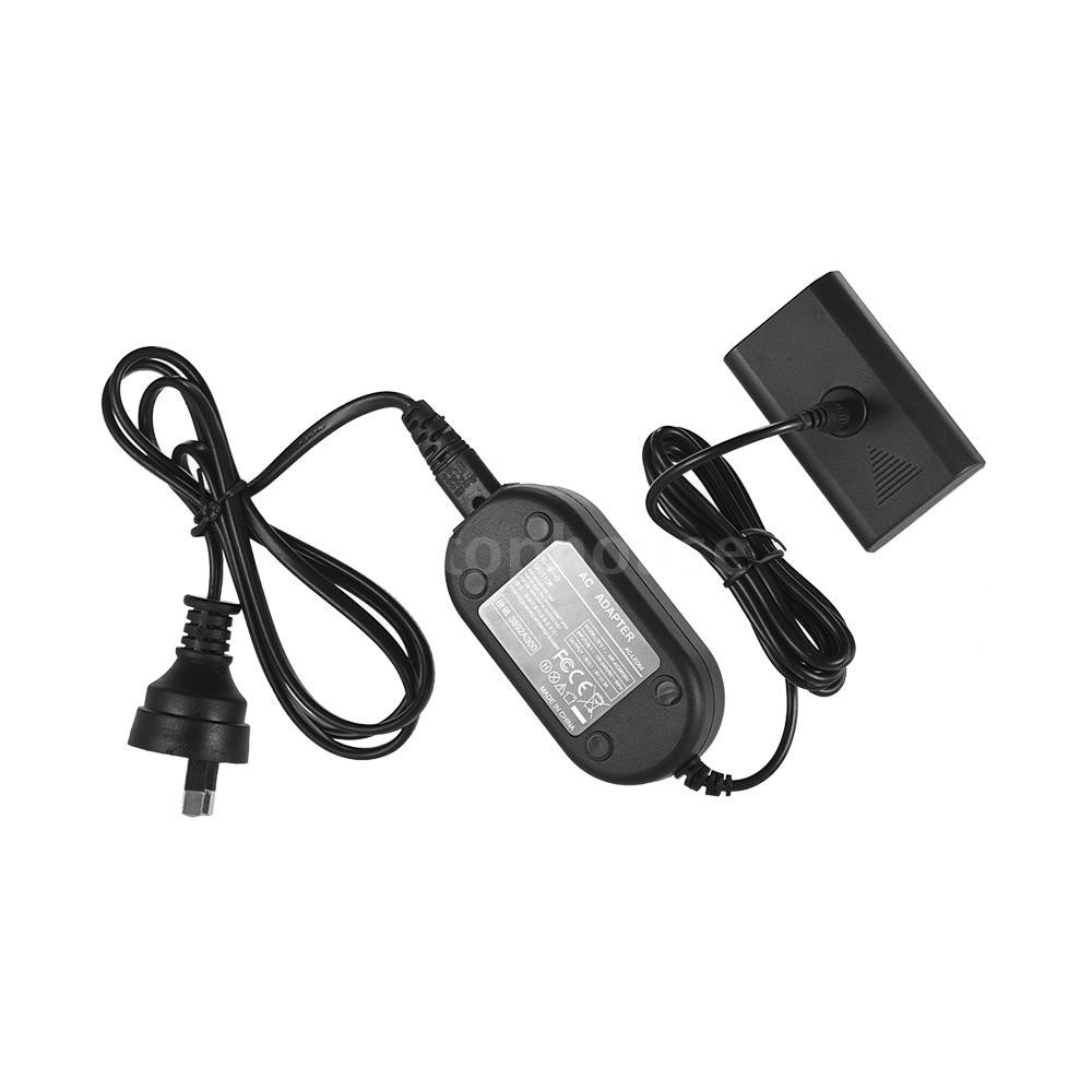 Andoer Dummy Battery DC 8V 3A Switching Power Supply Adapter for NEEWER CN-160 CN-126 Andoer W160 W228 Video Light